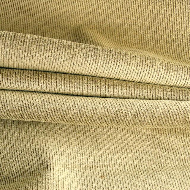 0125 Stretch melange Feincord sand - braun