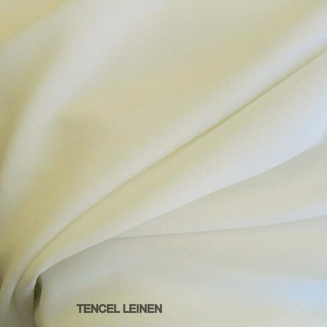 0388 CUPRO TENCEL® LEINEN IN WEIß