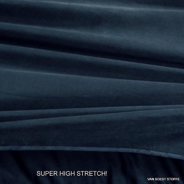 100% CUPRO® High Stretch Sandwashed Jersey in Taubenblau