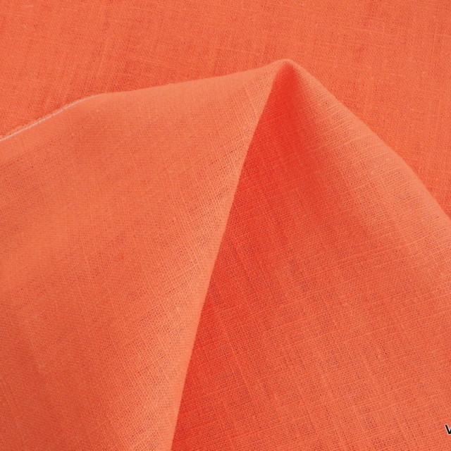 100% linen in beautiful | View: 100% linen in beautiful Oranje