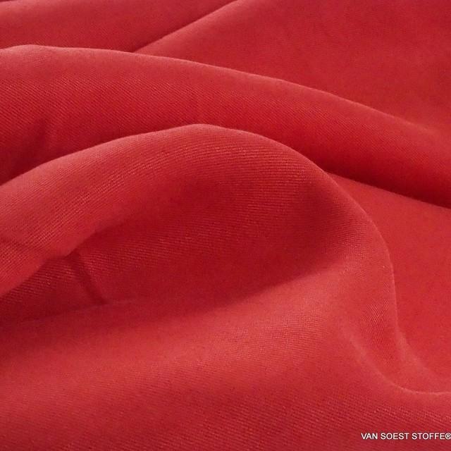 100% Lyocell - Tencel Feintwill in Rot