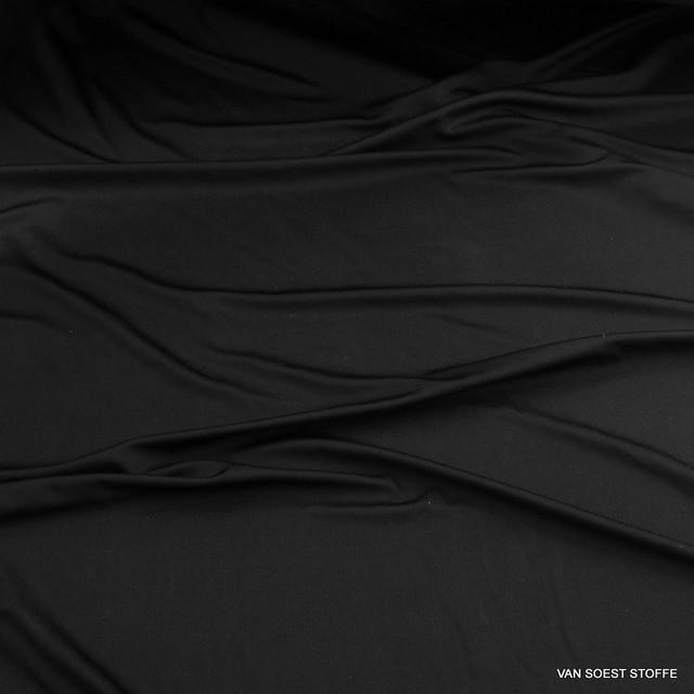 100% ROLVA® High Stretch Soft Jersey in Schwarz