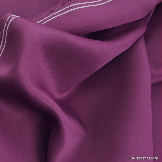 100% ROLVA® dull satin in violet