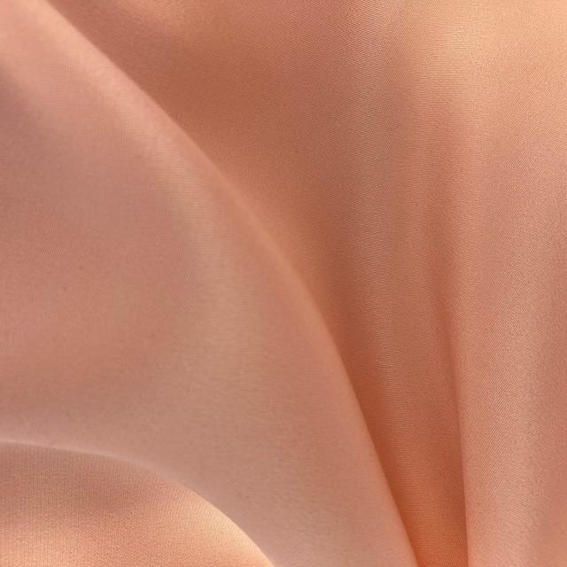 100% Reine Seide - schwere Crepe de Chine in Rosa