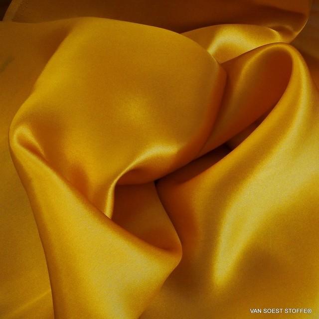 100% Seide leicht-Satin in Gold Gelb | Ansicht: 100% Seide leicht-Satin in Gold Gelb