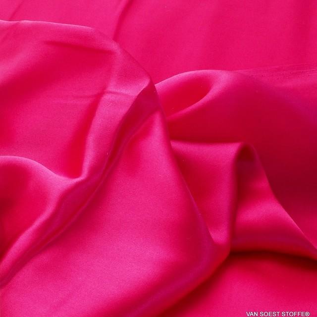 100% Seide leicht-Satin in Pink