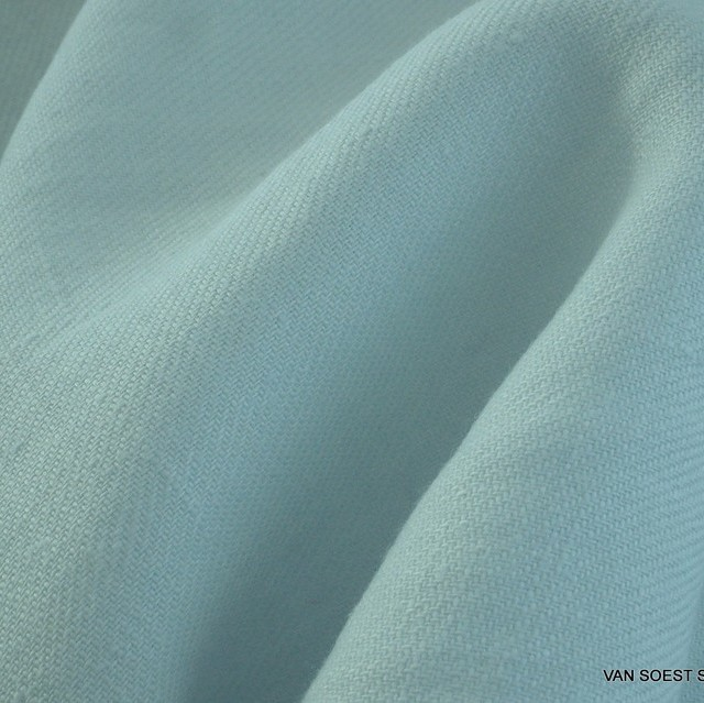 100% soft linen in light mint