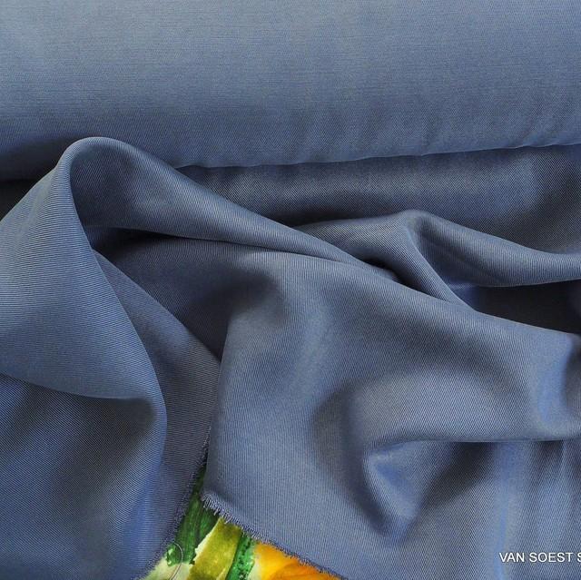 100% TENCEL ™ schwerer Soft Köper in Taubenblau   Ansicht: 100% TENCEL ™ schwerer Soft Köper in Taubenblau