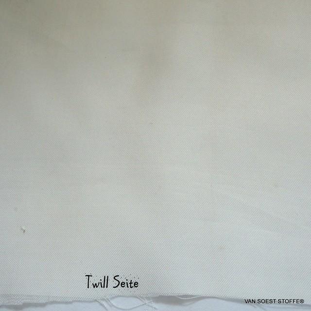 100% Tencel™ Doppelseitiges Twill-Shantung Leicht Gewebe in Ivory | Ansicht: 100% Tencel™ Doppelseitiges Twill-Shantung Leicht Gewebe in Ivory