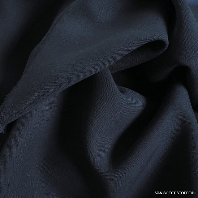 100% Tencel™ Feinköper in Farbe Dunkel Navy