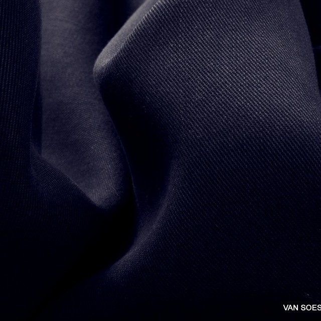 100% Tencel™ Feinköper+ in Farbe Dunkel Navy | Ansicht: 100% Tencel™ Feinköper+ in Farbe Dunkel Navy