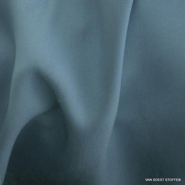 100% Tencel™ Feinköper in Farbe Taubenblau