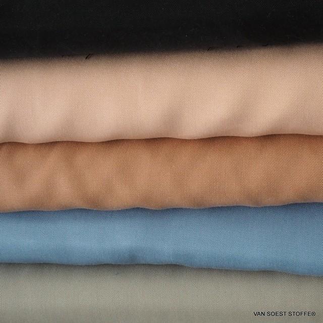 100% Tencel™ Feinköper in Farbe Taubenblau   Ansicht: 100% Tencel™ Feinköper in FarbeTaubenblau
