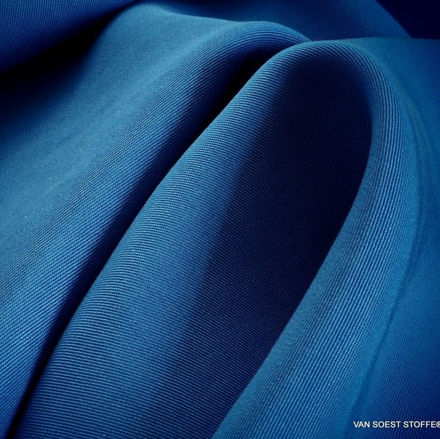 100% Tencel™ Shirt-Tunic-Tank Feintwill in Kobaltblau