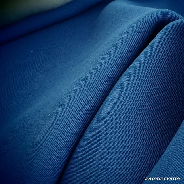 100% Tencel™ Shirt-Tunic-Tank Feintwill in Kobaltblau | Ansicht: 100% Tencel™ Shirt-Tunic-Tank Feintwill in Kobaltblau