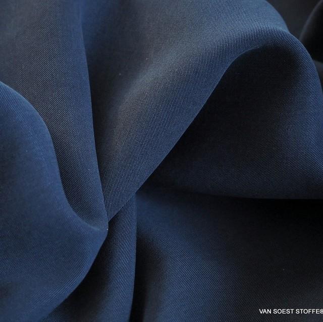 100% Tencel™ Shirt-Tunic-Tank Feintwill in Mittelblaues Navy | Ansicht: 100% Tencel™ Shirt-Tunic-Tank Feintwill in mittelblaues Navy