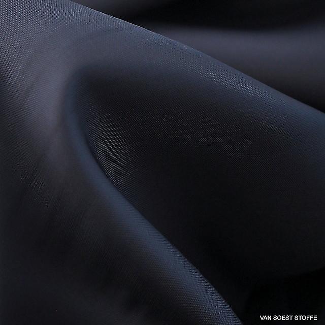 100% Viskose Futterstoff in Dunkelblau | Ansicht: 100% Viskose Futterstoff in Dunkelblau