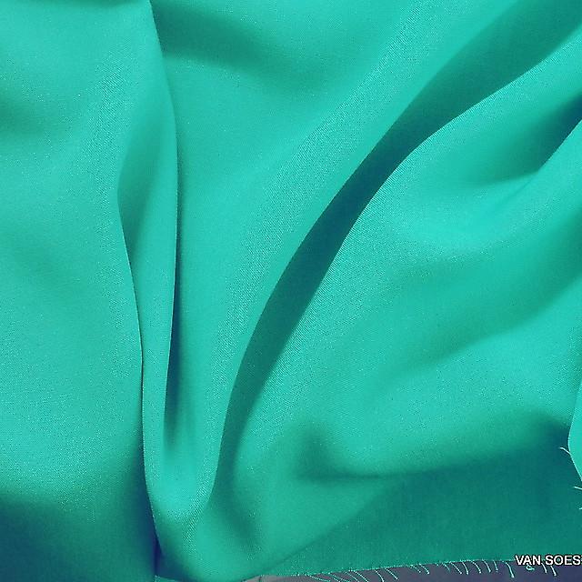 100% Viskose weiches soft Gewebe in Aqua Grün | Ansicht: 100% Viskose weiches super soft Gewebe in Aqua Grün