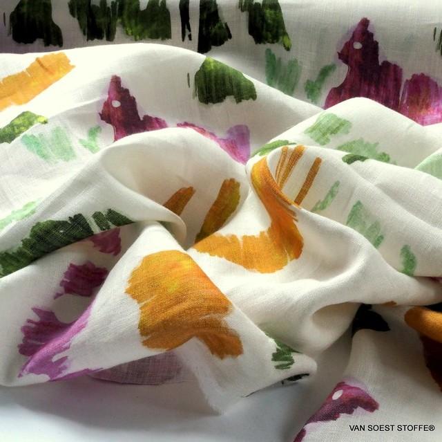 100% finest Italian linen, Designer Print by Giorgio Armani Milano