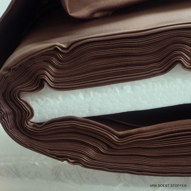 100% original Bemberg Cupro® Pongee Leichtfutter in Marone