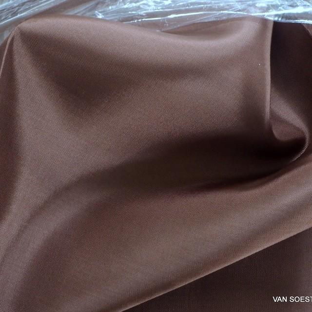 100% original Bemberg Cupro® Pongee Leichtfutter in Marone | Ansicht: 100% original Bemberg Cupro® Pongee Leichtfutter in Marone