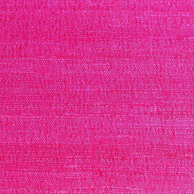100% Seide - Tussahseide in Pink