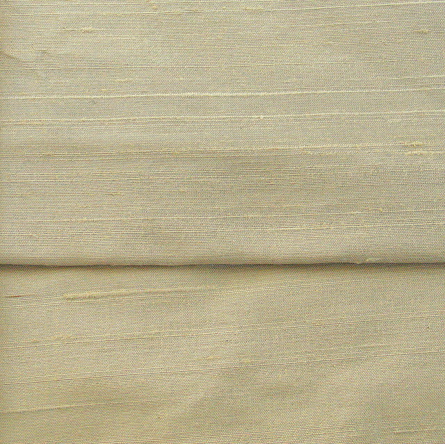 100% Seiden Dupion Farbe Platin