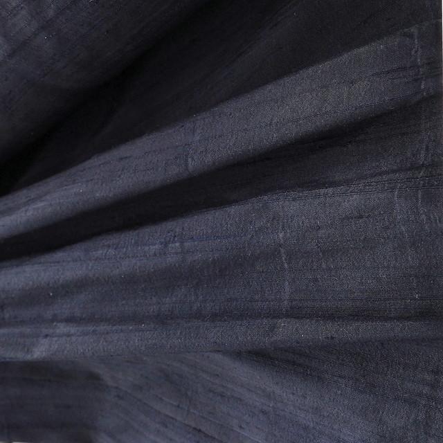 100% Seidendupion in dunkel Blau