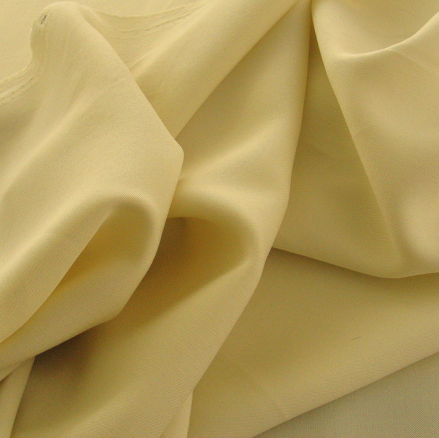 100% Tencel™ Soft Gabardine in Vanille