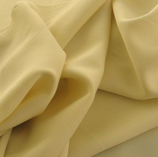 100% Tencel® Soft Gabardine in Vanille