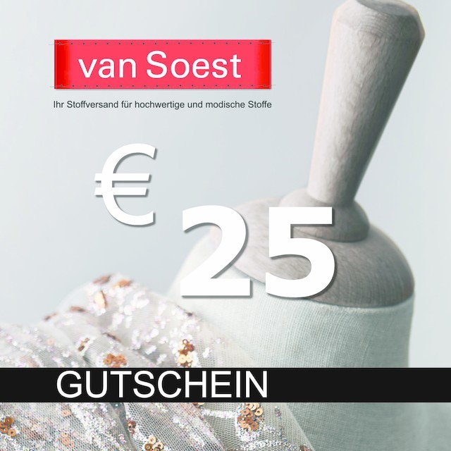 Gift certificate your amount 25€