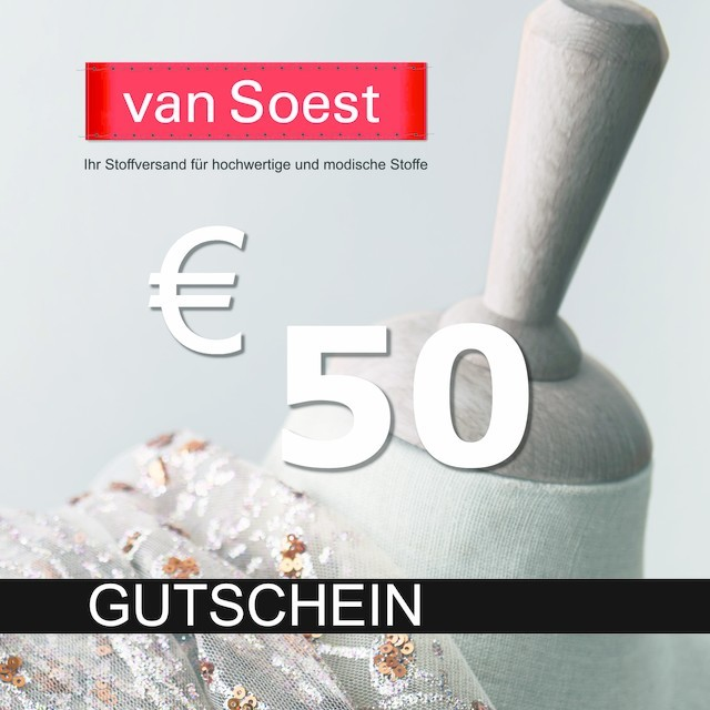 Gift certificate your amount 50€