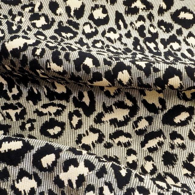 3D Imitation - Haute Couture Leopard mit Gold Fäden | Ansicht: 3D Imitation - Haute Couture Leopard mit Gold Fäden