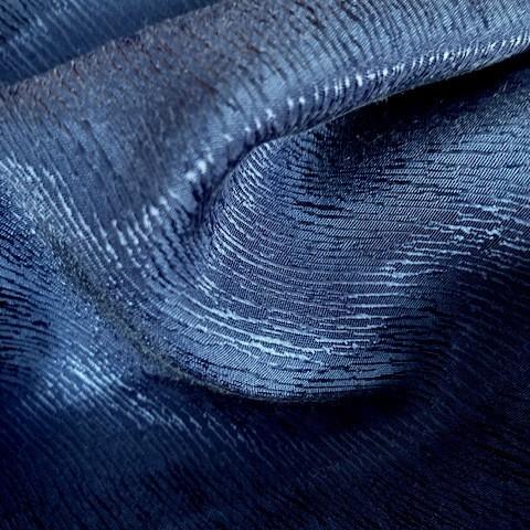 Baumrinden Crepe-Satin in TENCEL™/Cupro in Royal Blau | Ansicht: Baumrinden Crepe-Satin in TENCEL™/Cupro in Royal Blau