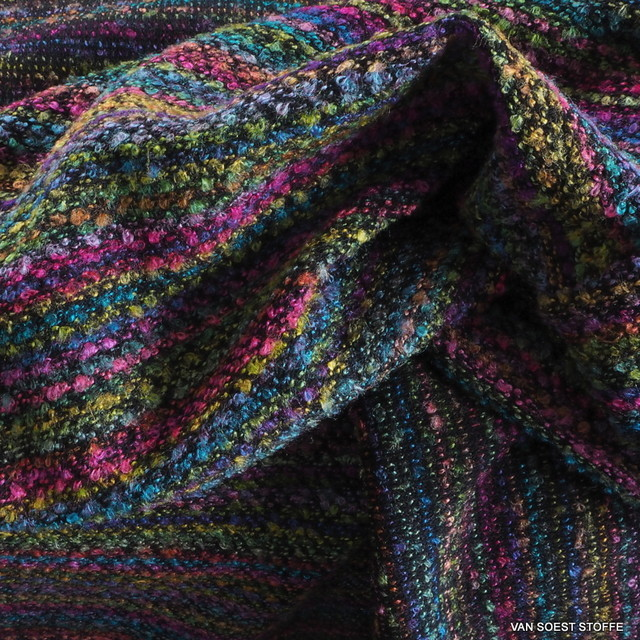 Bouclé Tweed in Multicolour