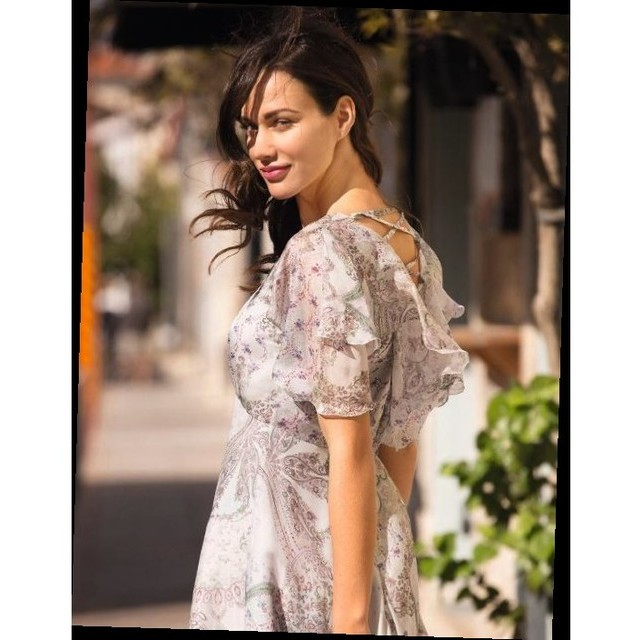 Burda style 100% Seiden Chiffon Alta Moda Paisley Druck | Ansicht: Burda style 100% Seiden Chiffon Alta Moda Paisley Druck