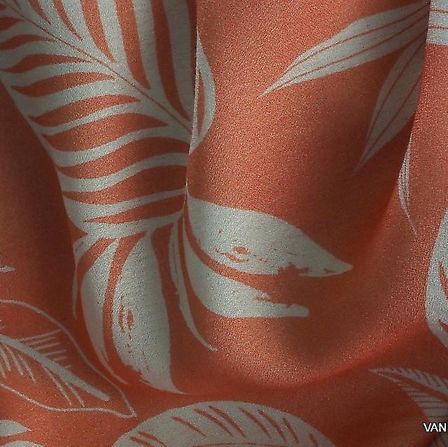 Burda style 100% Viskose Krepp Musselin Blatt Dessin | Ansicht: Burda style 100% feine Viskose Musselin Blatt Dessin