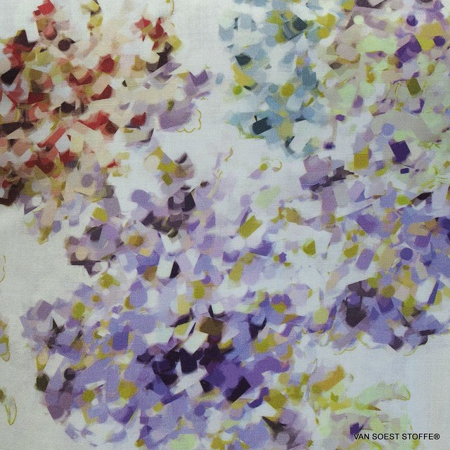 Burda style 100% viscose muslin with fine floral print | View: Burda style 100% viscose muslin with fine floral print