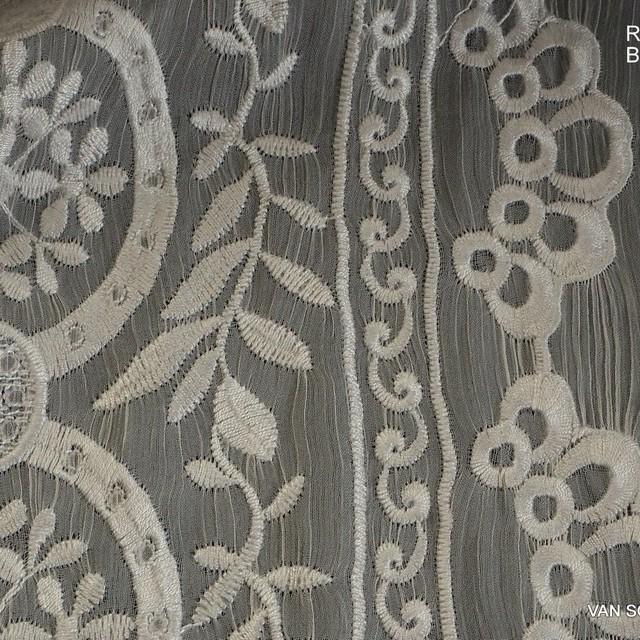 Burda style Fantasie Stickerei auf Borken Chiffon   Ansicht: Burda style Fantasie Stickerei auf Borken Chiffon