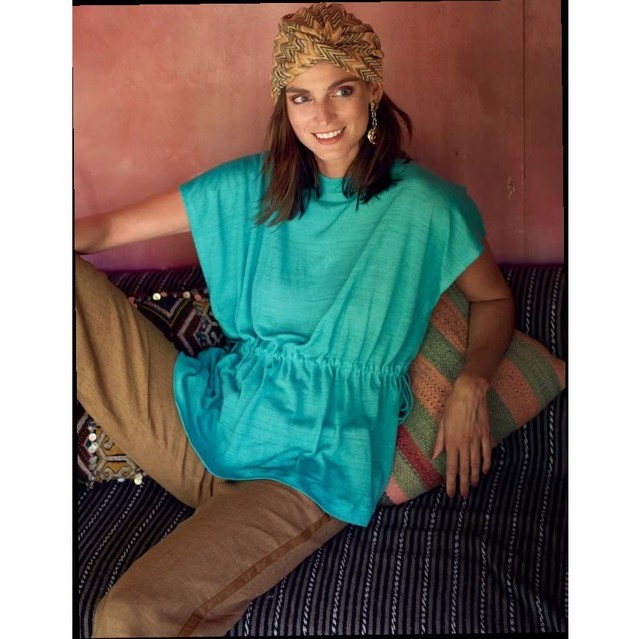 Burda style Gilda fine knit in pistachio novelty | View: Burda style Gilda fine knit in pistachio novelty