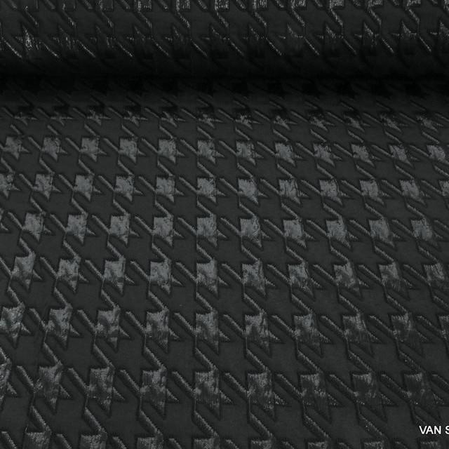 Burda style Hahnentritt Clocqué in Schwarz | Ansicht: Burda style Hahnentritt Clocqué in Schwarz