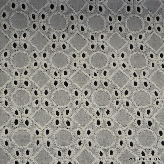 Burda style Lochstickerei in 100% Baumwolle | Ansicht: Burda style Lochstickerei in 100% Baumwolle