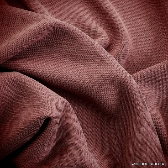 Burda style Modal® Stretch Jersey in dunkel Burgund | Ansicht: Burda style Modal® Stretch Jersey in dunkel Burgund