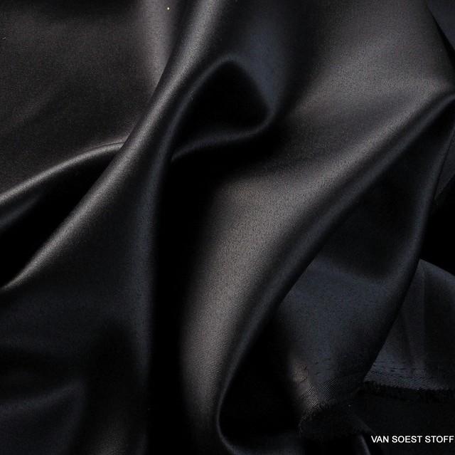 Burda style deep black satin stretch | View: Burda style deep black satin stretch
