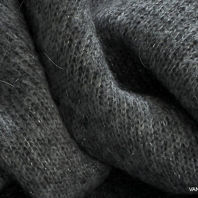 Burda style Strick mit Glitter Effekt in Silbergrau | Ansicht: Burda style Strick mit Glitter Effekt in Silbergrau