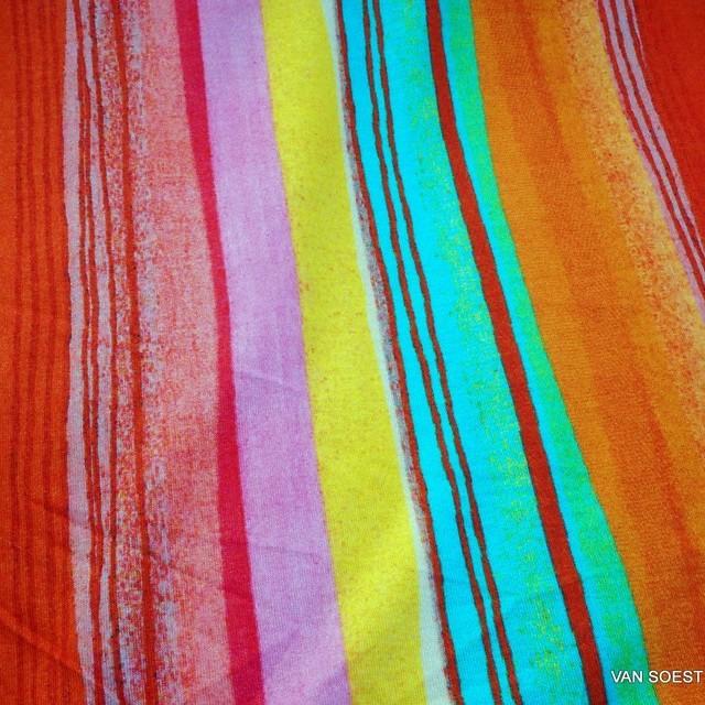 Burda style italienischer Fabio multi color Print auf superweicher Stretch Jersey | Ansicht: Burda style italienischer Fabio multi color Print auf superweicher Stretch Jersey