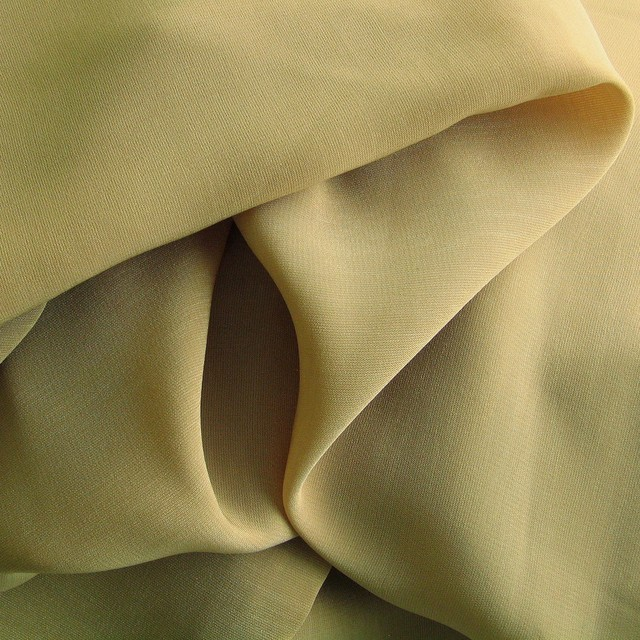 Camel colored vintage luxury satin