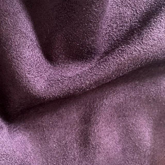 Cashmira° Stretch Wildlederimitat Farbe Pflaume - Burda Style