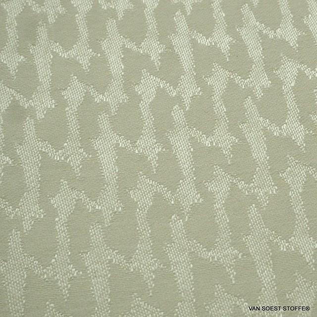 Cupro® - Rayon Hahnentritt in Creme Weiß | Ansicht: Cupro® - Rayon Hahnentritt in Creme Weiß
