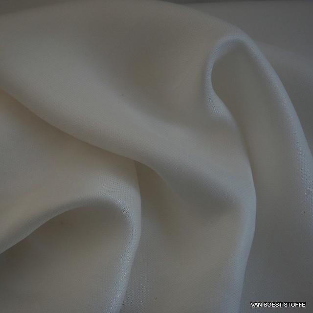 Cupro Viskose Soft Mikro Fischgrat in Weiß | Ansicht: Cupro Viskose Soft Mikro Fischgrat in Weiß
